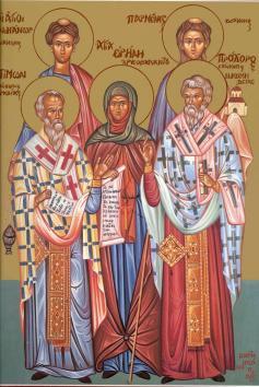 Sfintii Apostoli si Diaconi - 28 iulie