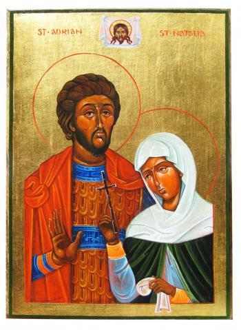 Sf Adrian și Natalia