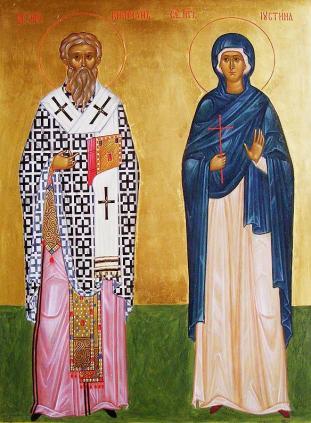 Sfintii Ciprian si Iustina - 2 Oct